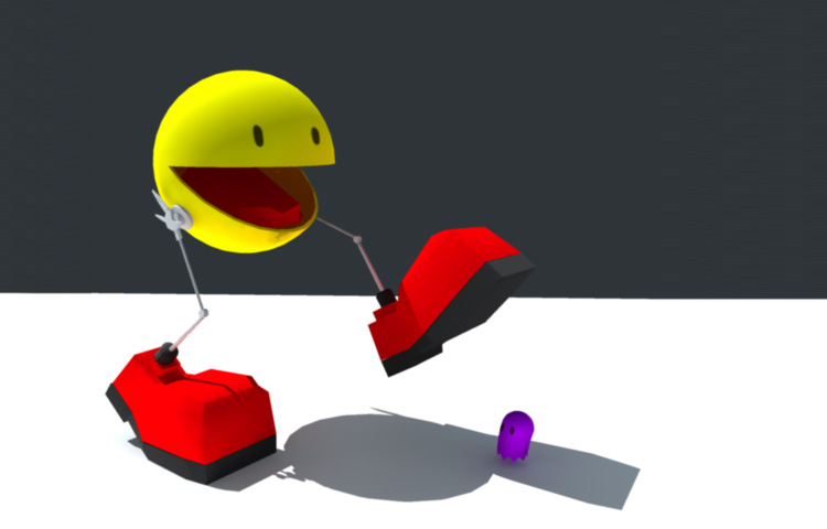 Pacman en 3d